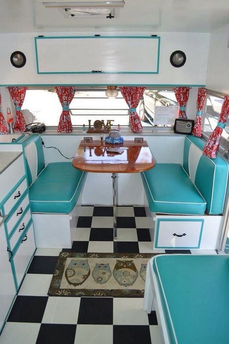Photo of 45+ Amazing Vintage Travel Trailers Remodel Ideas