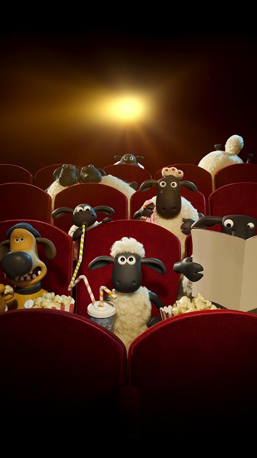 Shaun The Sheep Movie 2015 Phone Wallpaper 2020 ひつじの