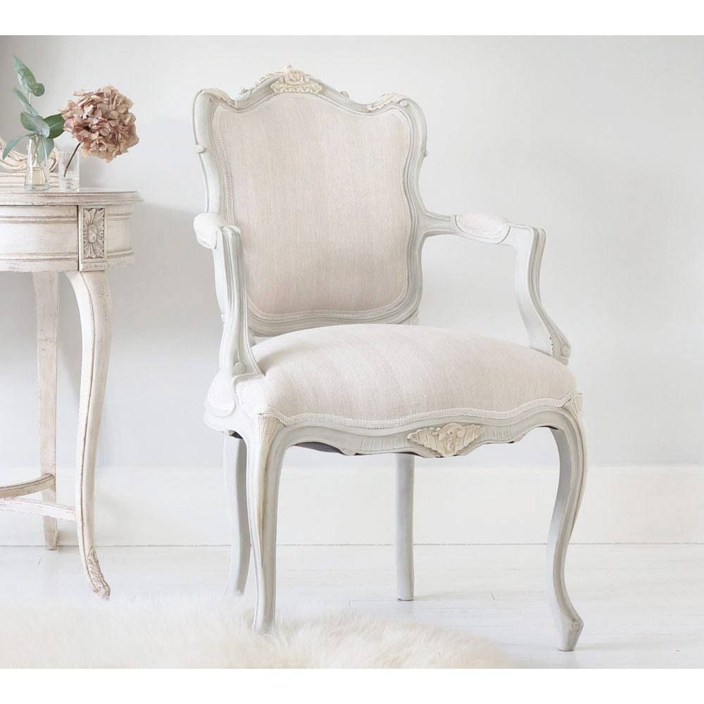 Bonaparte French Armchair | furniture | French chairs, White bedroom ...