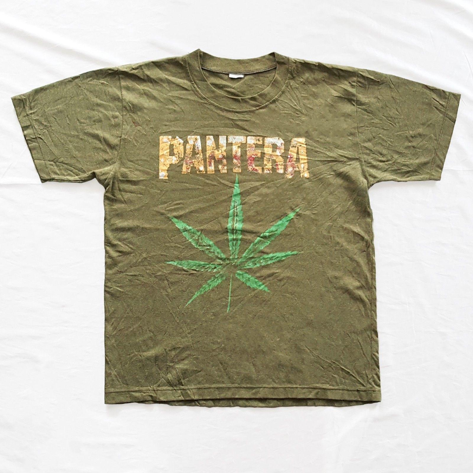 612a7b66cf86 Cannabis · T Shirts · Vintage Bootleg PANTERA T-Shirt for sale!  http://www.ebay