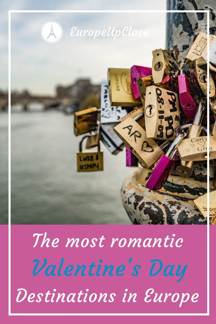 Most Romantic Valentines Day Destinations In Europe #Love