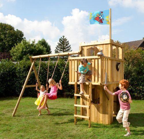 spielanlage spielturm fips ritterburg mit zubeh r stelzenhaus pinterest spielturm. Black Bedroom Furniture Sets. Home Design Ideas