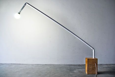 "Lo-Fi ""Arq"" Lamp #lighting #DIY"