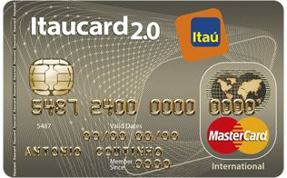 Itaucard 2 0 International Mc 316x196 Cartao De Credito
