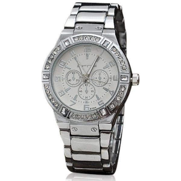 Fabiella- Rhinestone Gold / Silver Classic Business Quartz #Watch http://buff.ly/2r9ORkV?utm_content=buffer1bfd1&utm_medium=social&utm_source=pinterest.com&utm_campaign=buffer #LaMiaCara #Lifestyle #DolceVita #Jewelry #Fashion