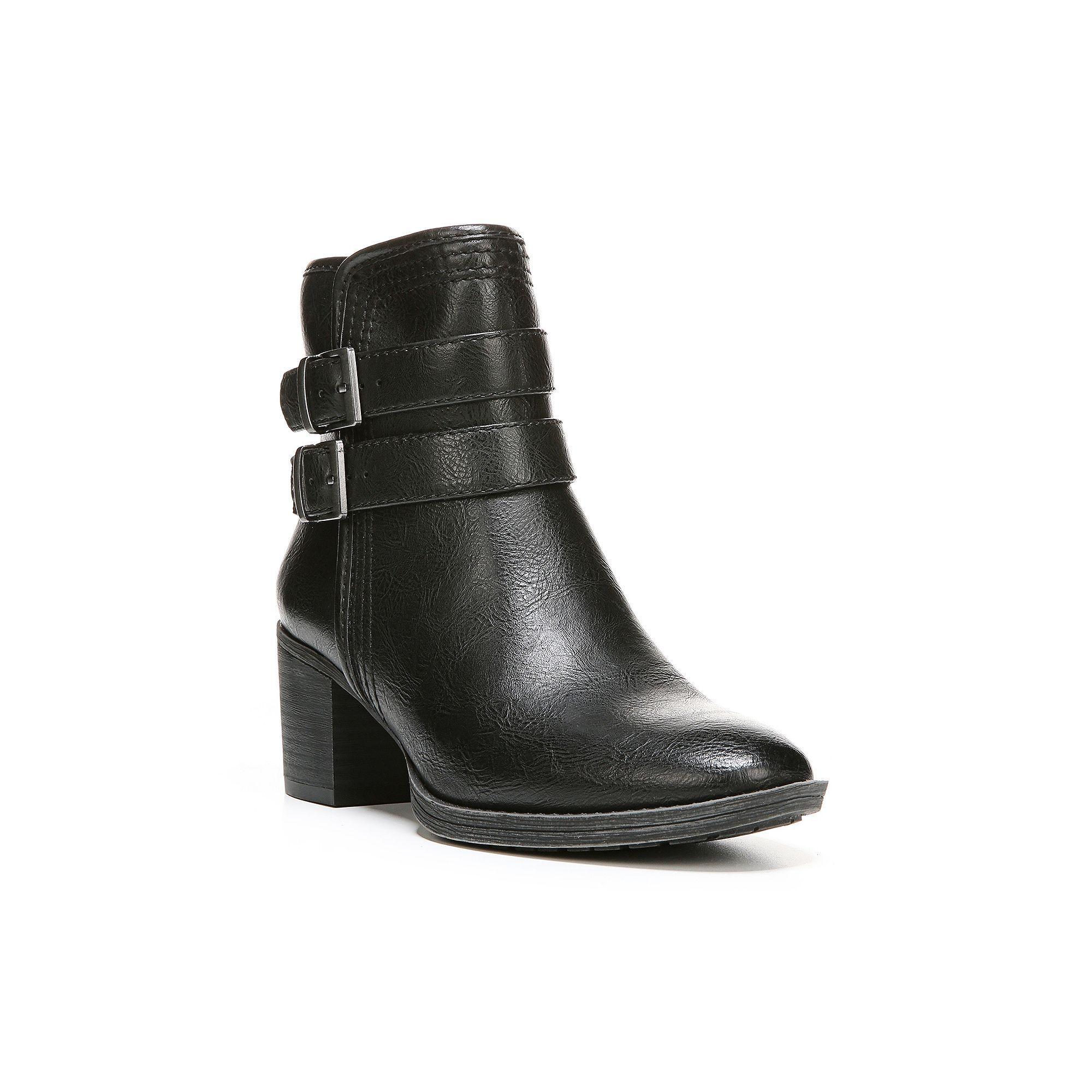NaturalSoul by naturalizer Zarna Women's Ankle Boots, Size: medium (9.5),  Black