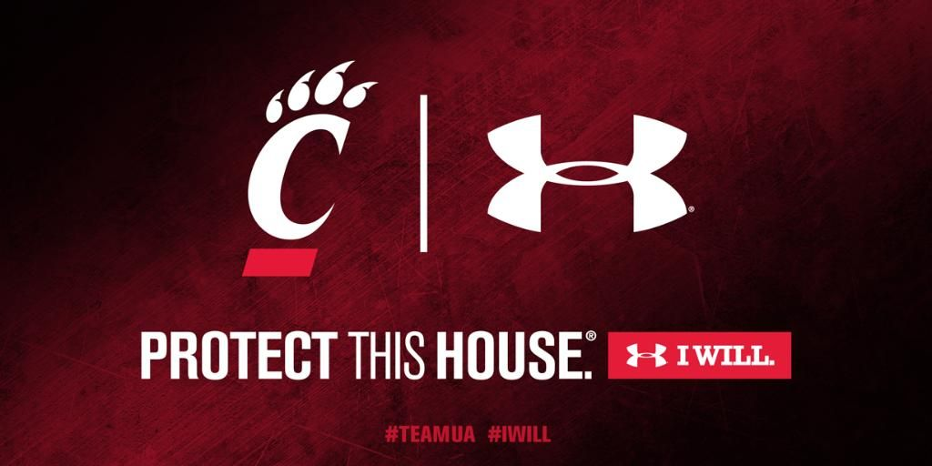 Excited for the Cincy Bearcats switch to Under Armour!