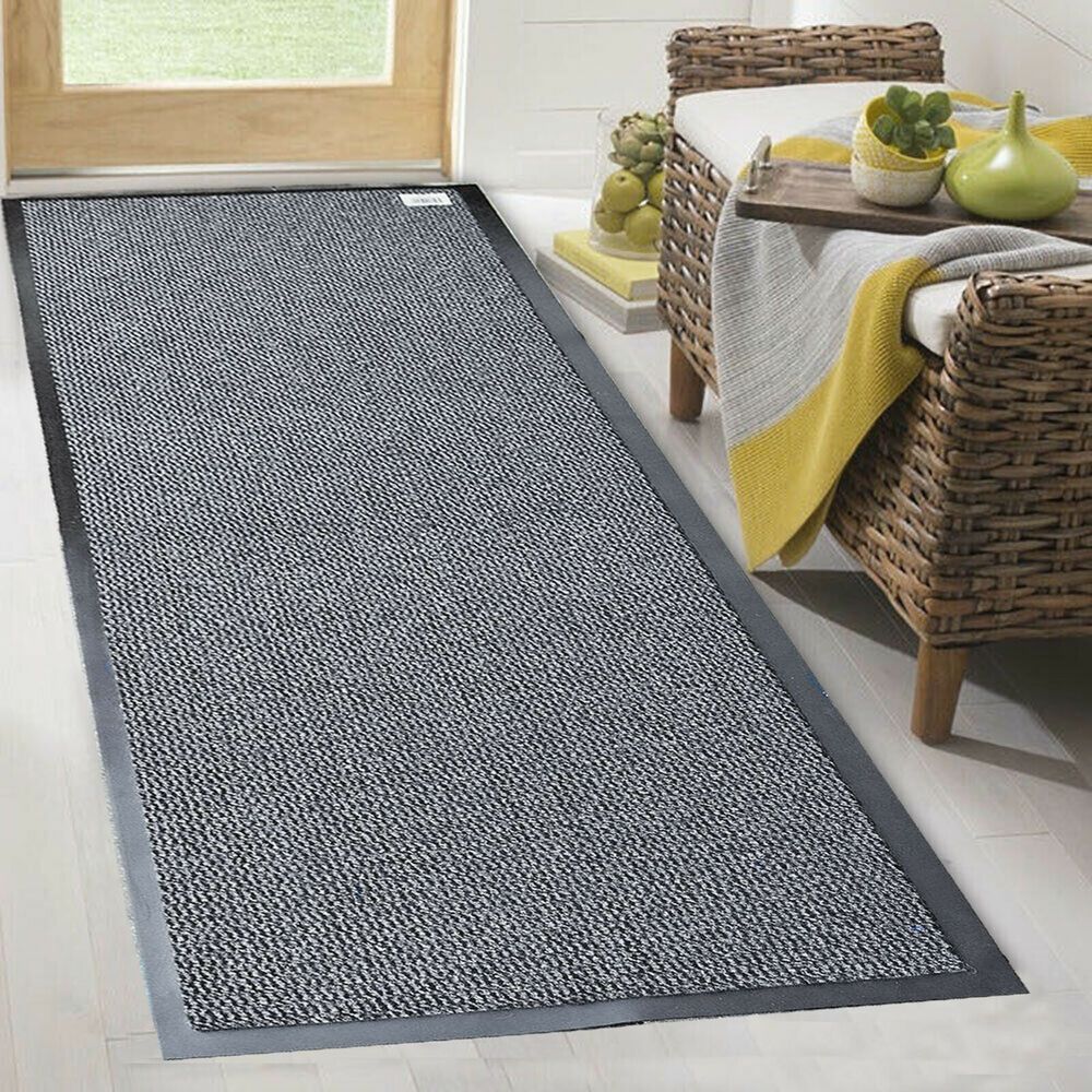 Heavy Duty Rubber Barrier Non Slip Mat Large Small Rugs Back Door