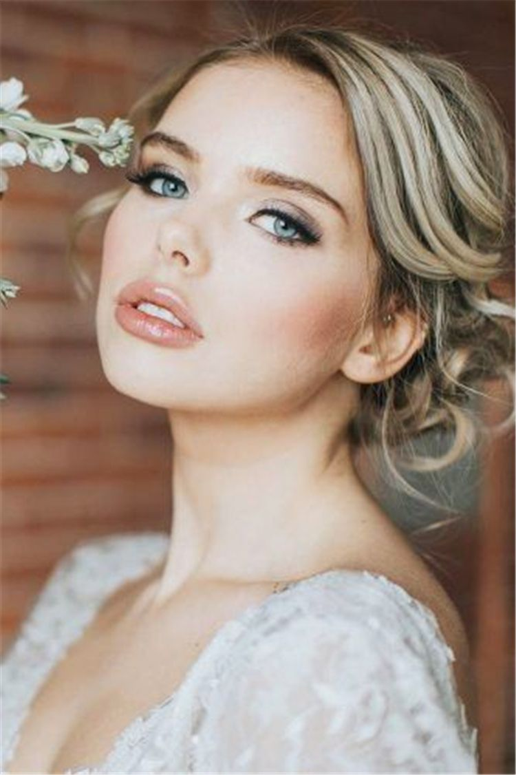 12 Most Attractive Natural Wedding Make Up Looks  Gorgeous