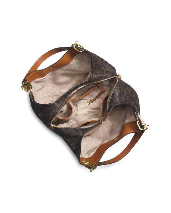 f59596ca26 Michael Michael Kors Large Fulton Signature Logo Shoulder Bag ...