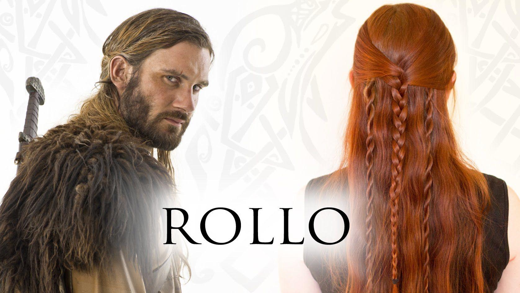Vikings Hair Tutorial For Men Rollo Lodbrok Lothbrok Viking Hair Hair Tutorial Braided Hairstyles