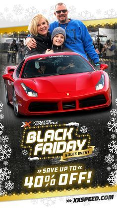 The opportunity to DRIVE a rare exotic car on a racetrack is a unique gift idea and an awesome experience for any car enthusiast. It's guaranteed to leave a smile on their face an awesome story to tell and a life-long memory.   Take advantage of our black Friday sale and get up to 40% off supercar track xperiences.   Book your drive or give your loved one an Xperience of a lifetime by putting them in the driver's seat of their dream cars! #exoticcars