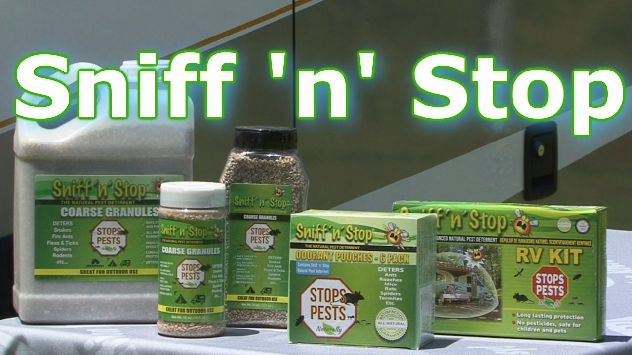 """RV 101® with Mark Polk - RV owners constantly deal with pests, mosquitoes and rodents. In this RV video Mark Polk with RV Education 101 demonstrates how to stop those pesky RV pests with Sniff """"N"""" Stop by Valterra Products. https://youtu.be/hnVN2kdbqGw"""