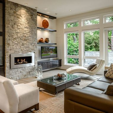 Entertainment Wall Units With Fireplace Design Ideas Pictures Remodel And Decor