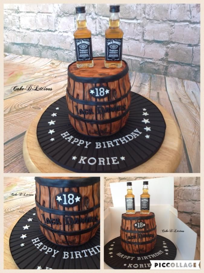 Jack Daniels by CakeDLicious Cakes Cake Decorating Daily
