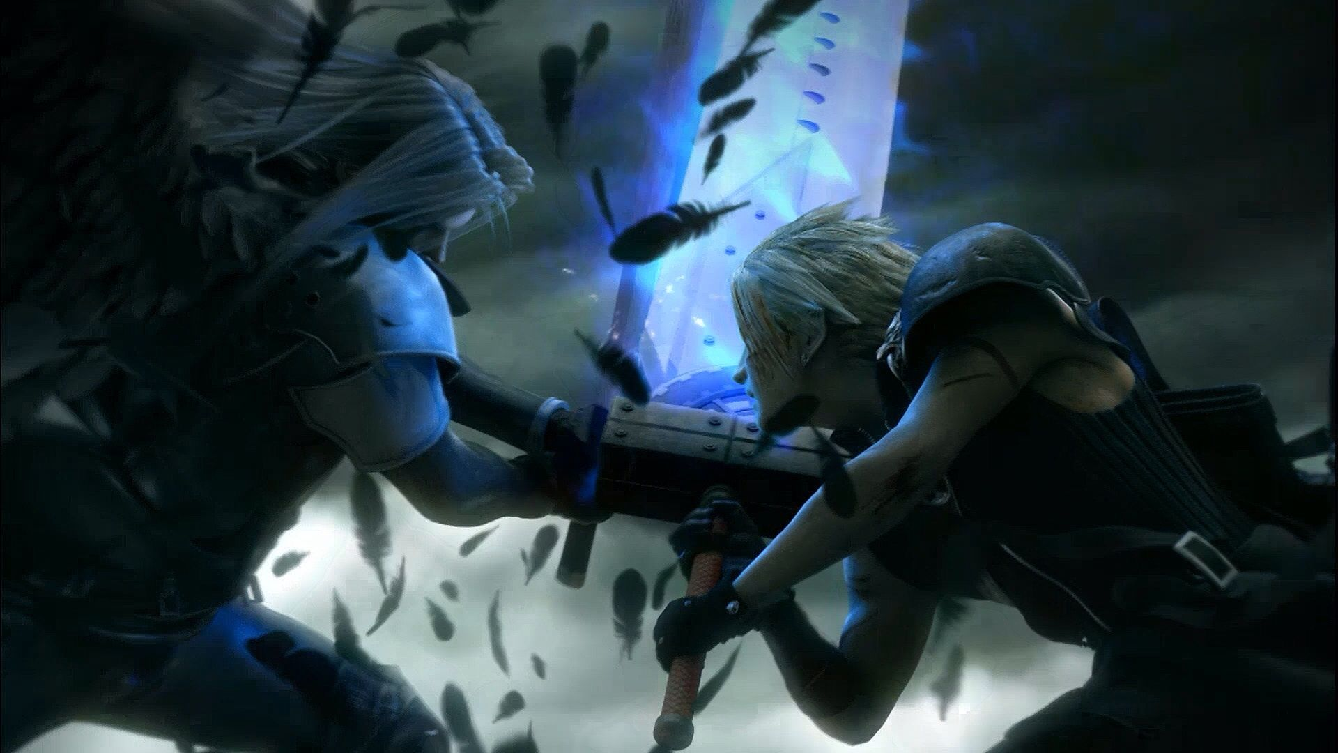 final fantasy 7 advent children cloud vs. sephiroth | inner geek