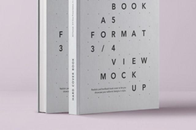 Psd A5 Hardcover Book Vol1 Psd Mock Up Templates Hardcover Book Hardcover Books