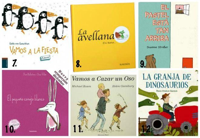 Selección de libros y cuentos para niños (2-3 años ...