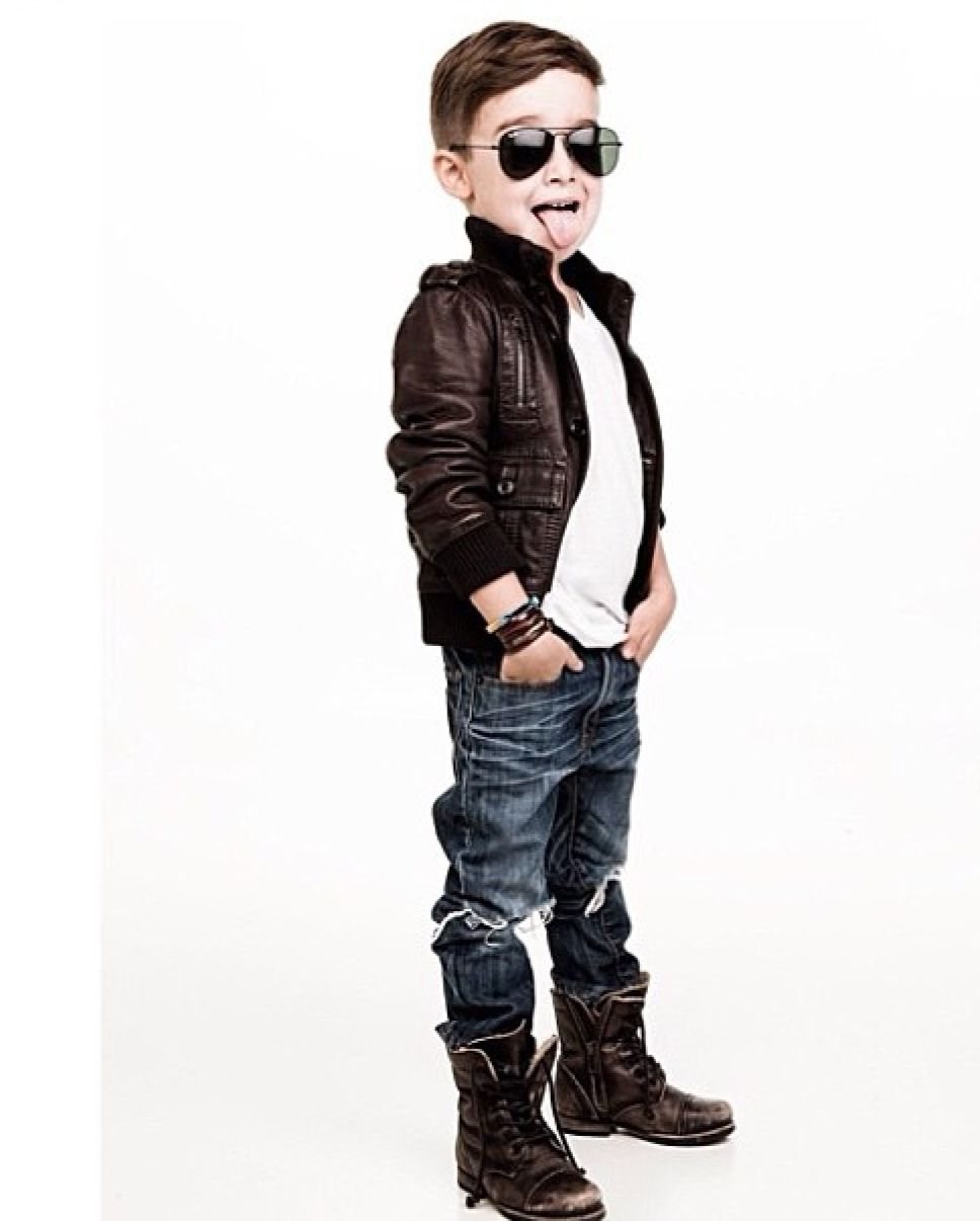 The Most Stylish Toddler On Instagram Boy Fashion Boys And Leather Jackets