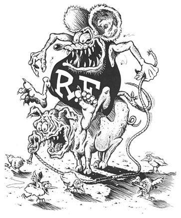 Rat Fink Wikipedia The Free Encyclopedia Rat Fink Cartoon Rat Rat Rod