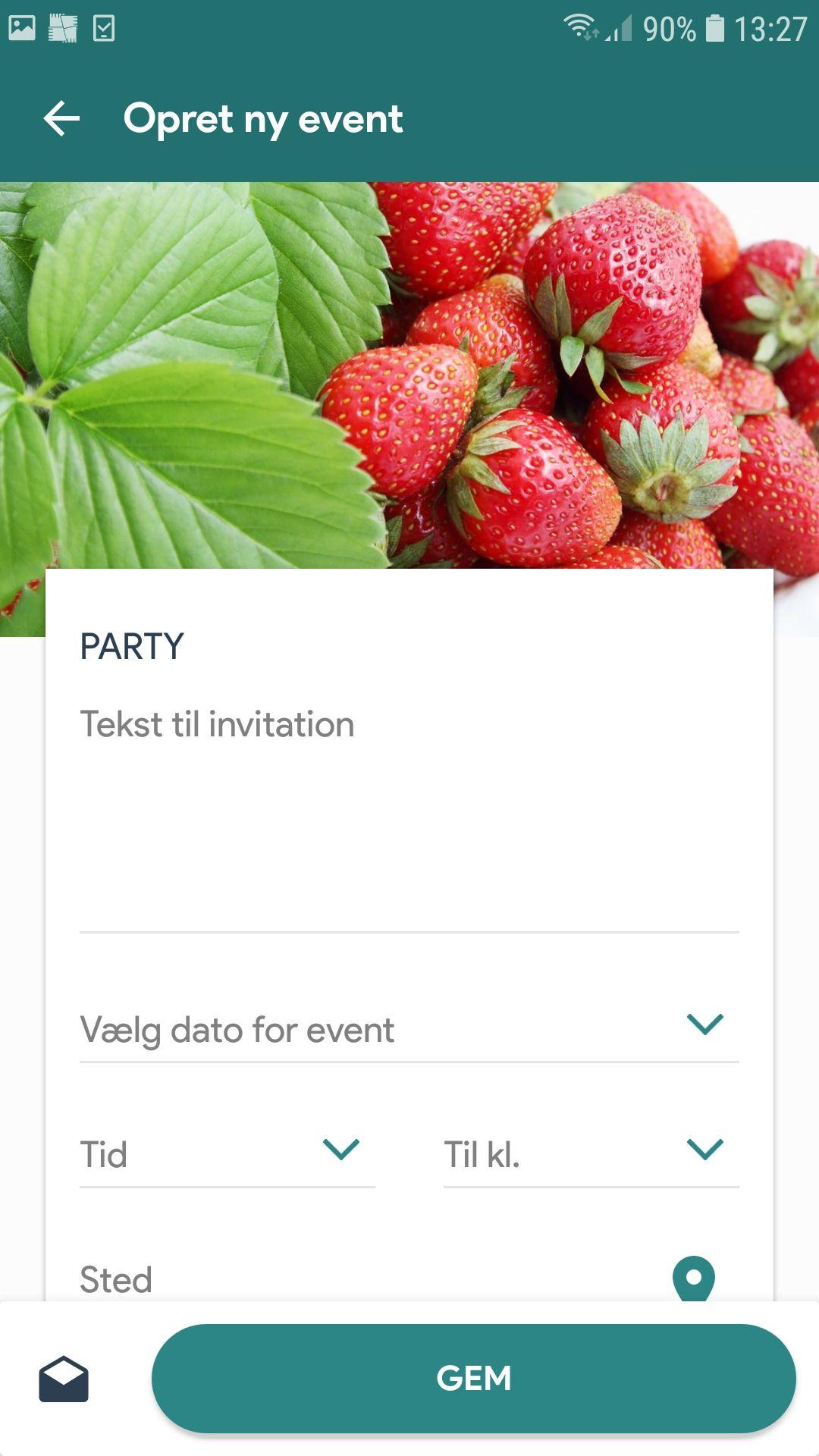 I Vores Invitationsapp Kan Du Ikke Bare Nemt Og Enkelt Lave Flotte Invitationer Du Kan Ogsa Sende Dem Via Sms Eller Appen Og Administrere Din Event Inbjudningar