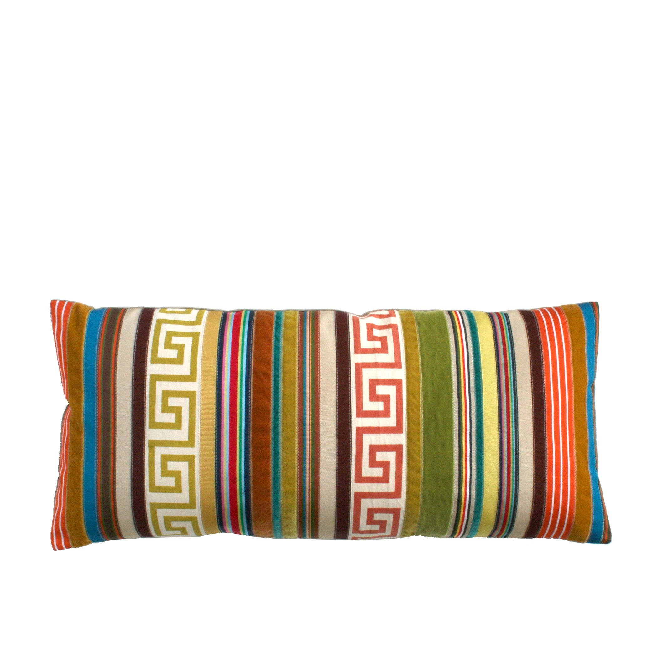 Our Trident Stripes Pillows Are Featured In Alexander Donovan S Bedroom Stripe Pillow Pillows Throw Pillows