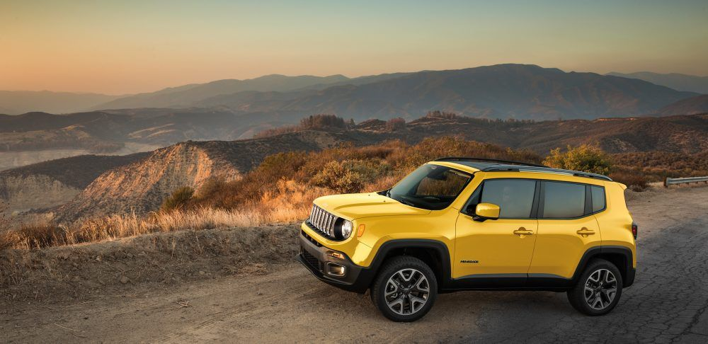 2017 Jeep Renegade Gallery Latitude Solar Yellow Profile Jeep Renegade Jeep Renegade