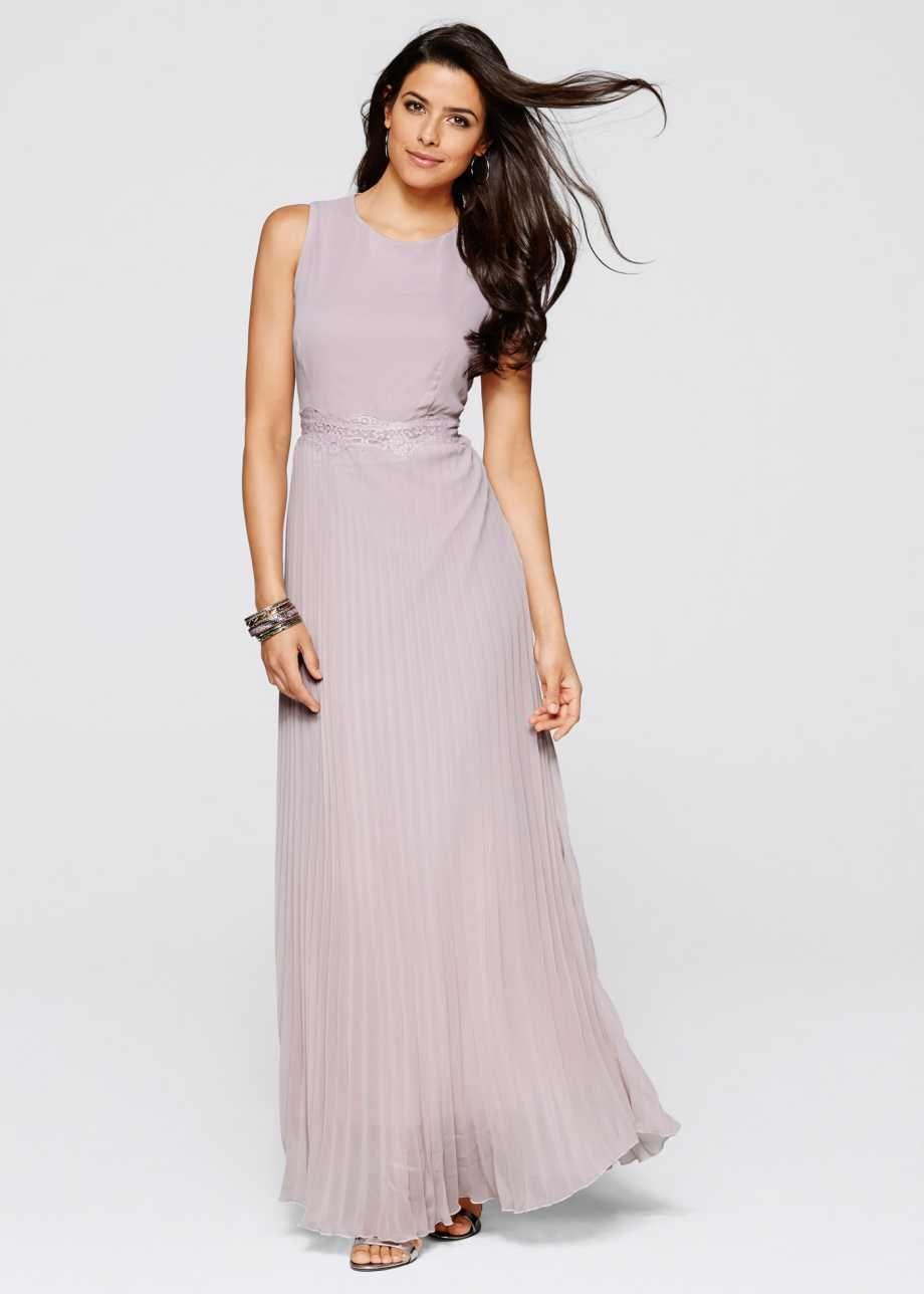 Kleid, BODYFLIRT boutique, flieder  Abendkleid