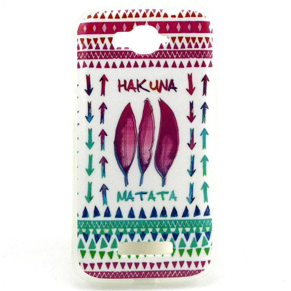 For Alcatel One Touch Pop C7 Case Tpu Owl Flower Design Phone Skin Casing Iphone 4 4s Softcase Motif Cover