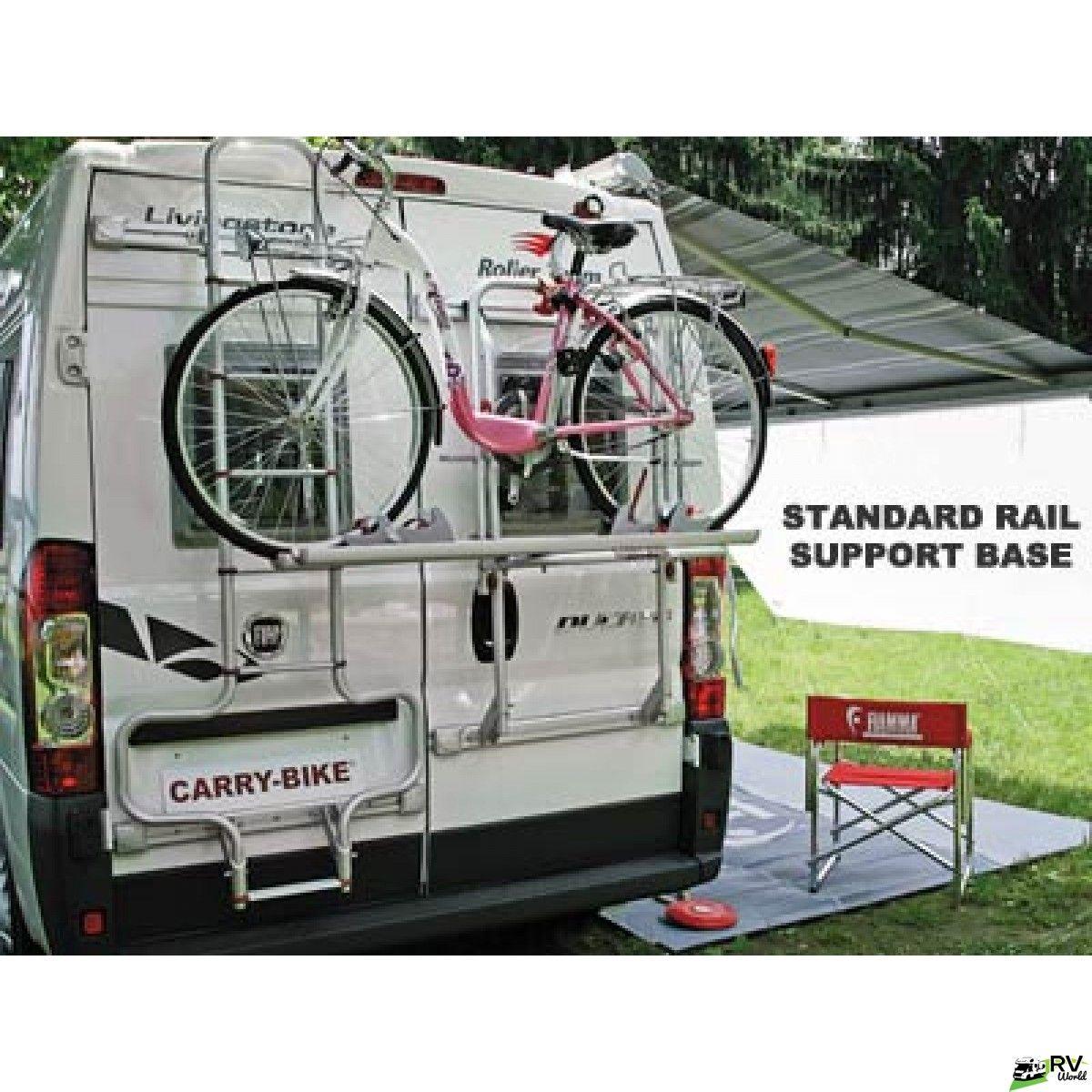 Fiamma Bike Rack 200 DJ. For vans with windows in double