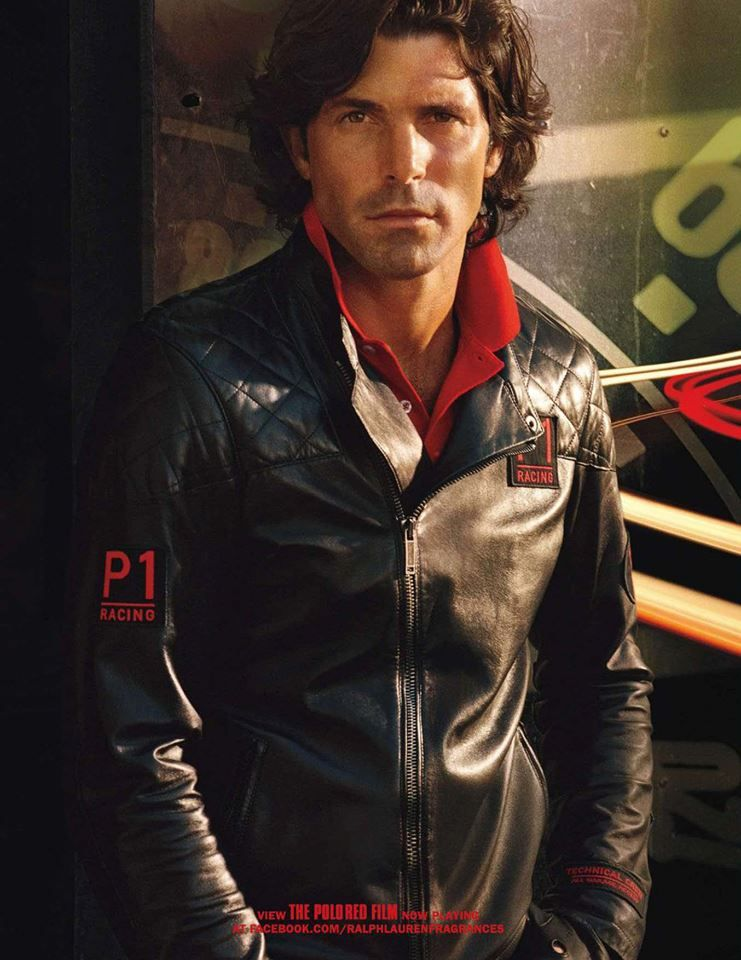 Ralph Lauren Polo Red Fragrance 2013 Ad Campaign Nacho