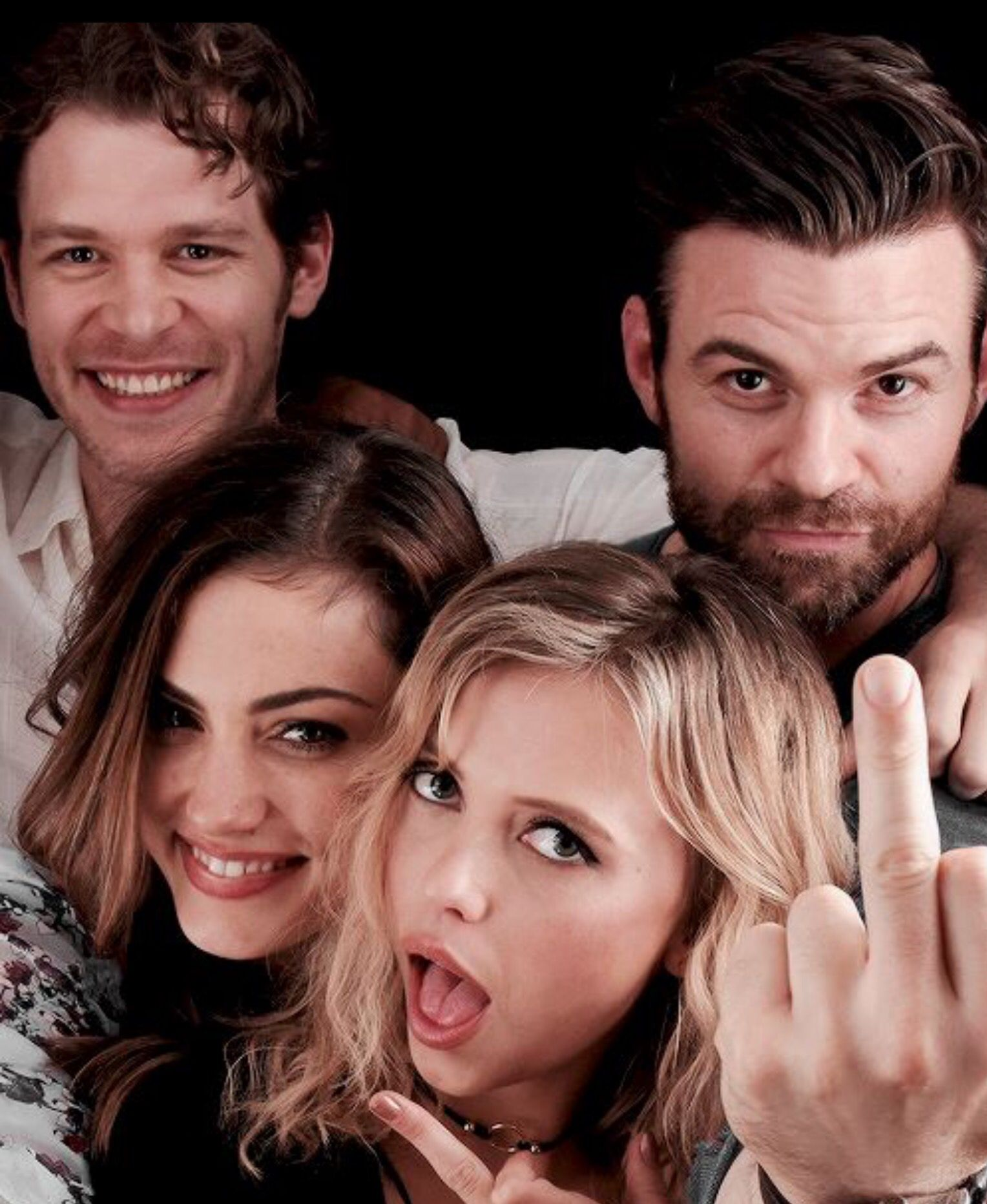 joseph morgan daniel gillies phoebe tonkin and riley