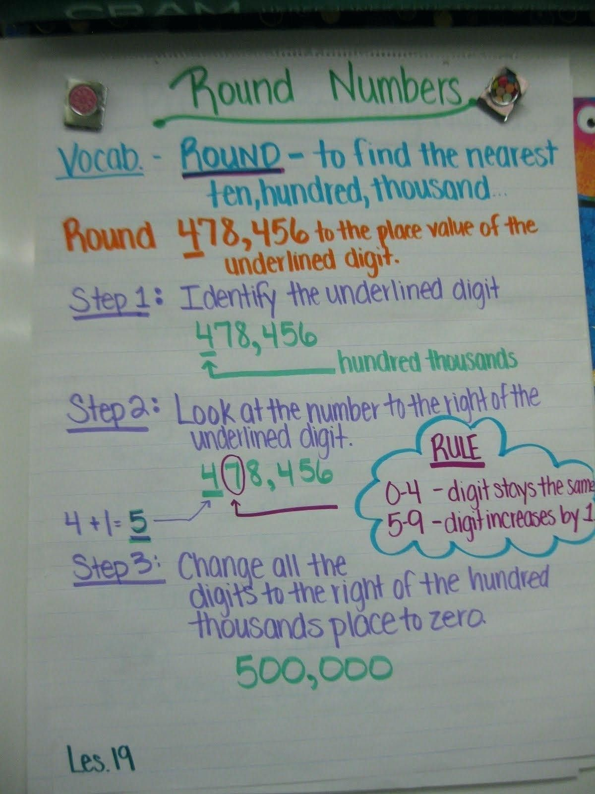 5 Free Math Worksheets Second Grade 2 Place Value Rounding