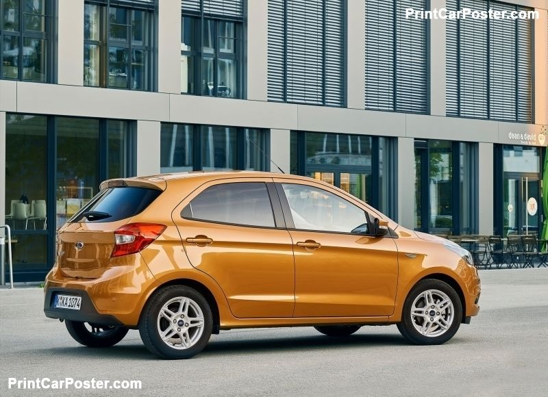 Ford Ka Plus 2017 Poster Ford Poster Car Posters