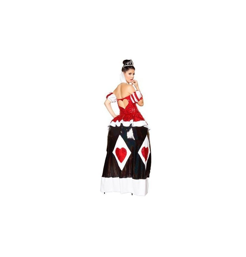 Queen Cutie by ROMA Halloween complete costume women sexy of heart