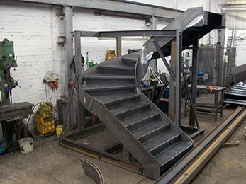 Best Steel Staircases Fabricated By Q Fabs Ltd Staircase 400 x 300