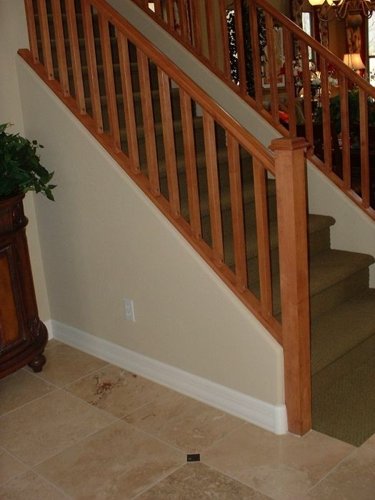 Great Mission: Stair Rail, Wood Stairs, Stair Railings, Stair Rails, Staircase  Railing