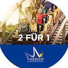 #Ticket  Merlin Gutschein 2 für 1Legoland HeideparkSealife Madamme Tussauds #Ostereich