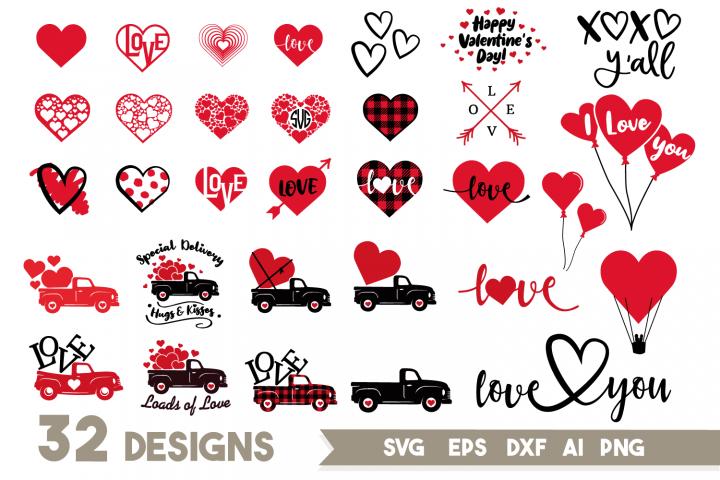 Download Valentines Day Svg Bundle Love Svg Valentine Svg Truck Svg 436085 Svgs Design Bundles In 2020 Valentines Svg Valentine Svg Files Download Valentines