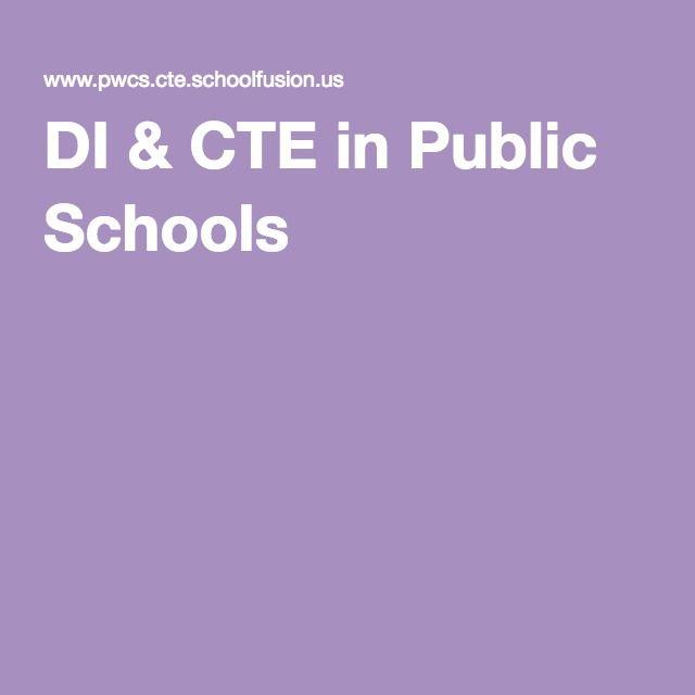DI & CTE in Public Schools