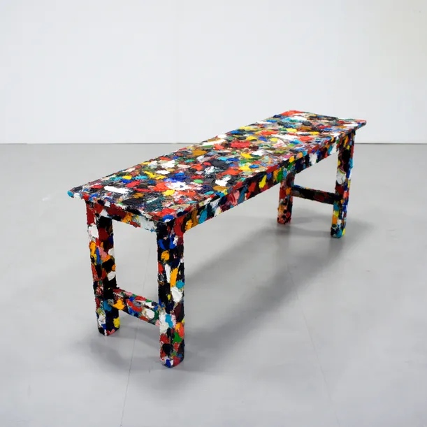 Buy OilPainting Bench