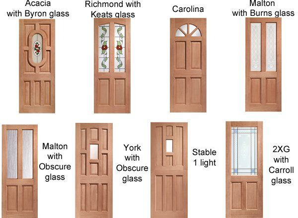 Glazed External Doors Are Available With Different Types Of Glass