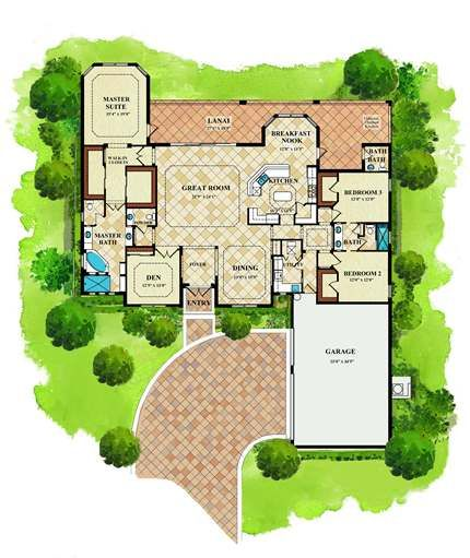 Lennar Homes Swfl Hawthorne Floor Plan Arlington Oaks
