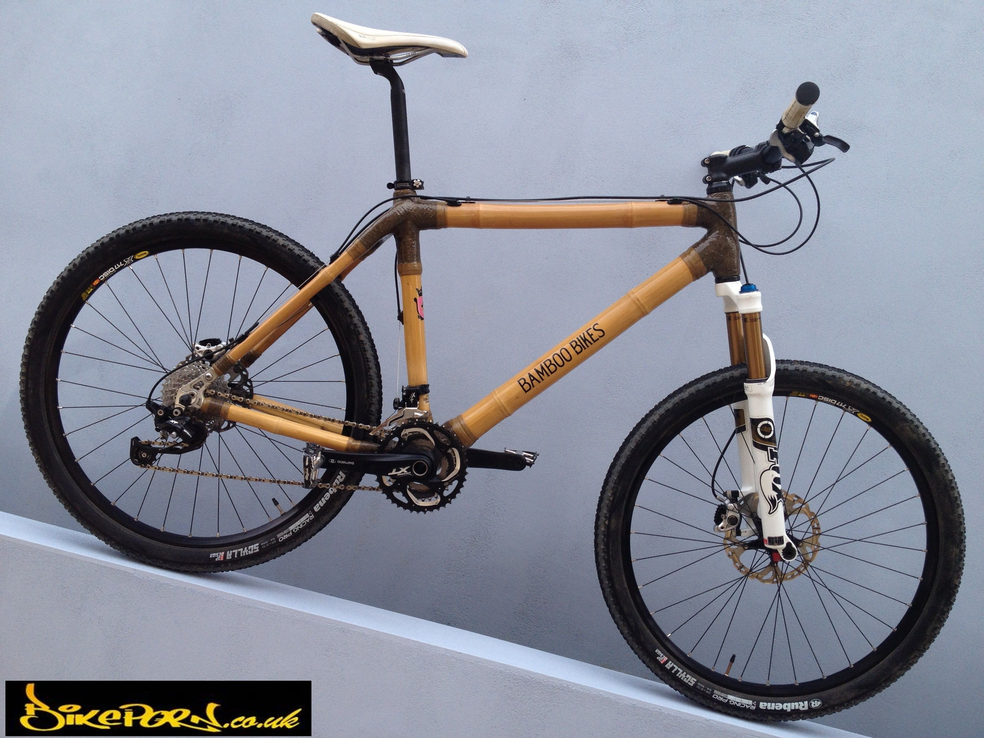 Wood Is Good Choose Your Colour Bamboo Mountain Bike Frame