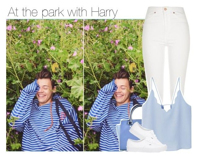"""""""At the park with Harry"""" by direction-of-the-summer ❤ liked on Polyvore featuring Michael Kors, River Island, MANGO and Vans"""