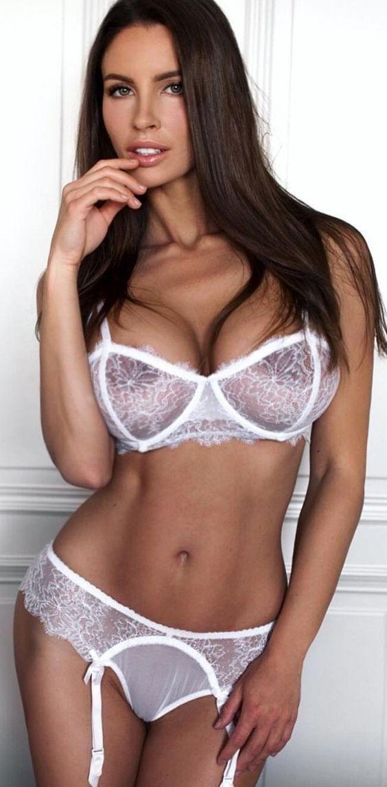 72307fda80f92 Bridal Lingerie, White Lingerie, Sexy Lingerie, Lingerie Outfits, Babe,  Sensual,