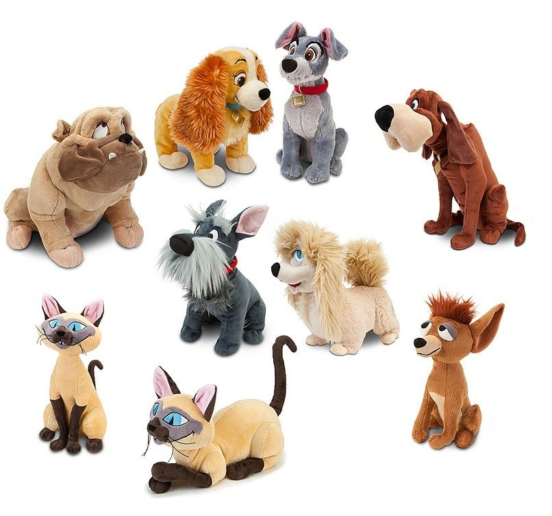 Wow I Have Never Had Anything So Cool To Give Away The Prize Winner Will Get A Full Collection Disney Stuffed Animals Lady And The Tramp Animal Plush Toys