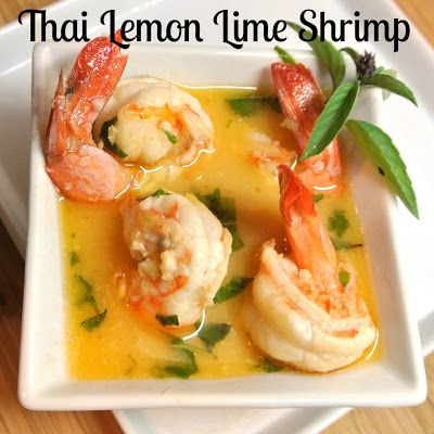 Lemon Lime Thai Shrimp