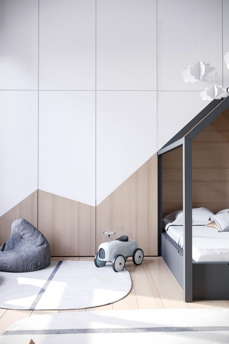 Calm Children's Room - La Petite #childroom