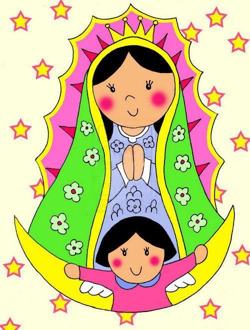 Ver Fotos De La Virgen De Guadalupe En Caricatura 4 Virgencita De Guadalupe Caricatura Virgen Caricatura Virgen De Guadalupe Animada